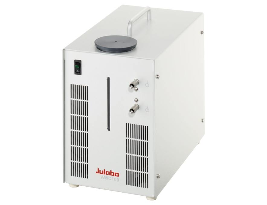 Air-to-Water Recirculating Cooler AWC100 from JULABO view 1
